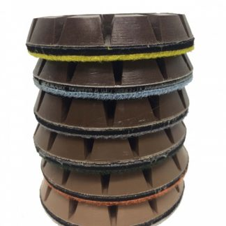 wet slick polishing pads