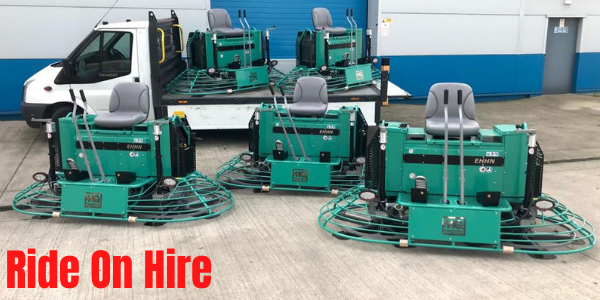 Ride On Trowel Hire