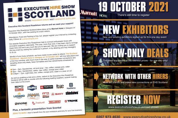 Executive Hire Show Glasgow